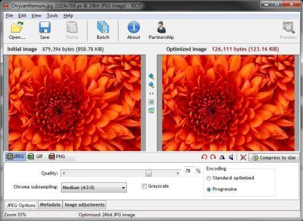 RIOT - Radical Image Optimization Tool screenshot