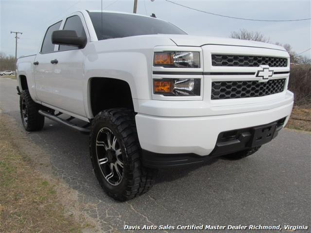 Black Chevy 2014 Wheels Silverado Lifted White