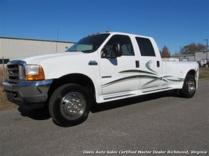 2001 Ford F550 Super Duty Lariat Crew Cab Long Bed