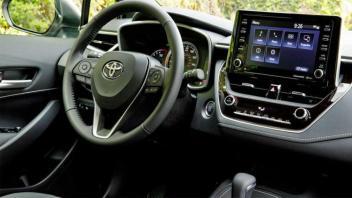 Toyota Corolla Hatchback model 2019.