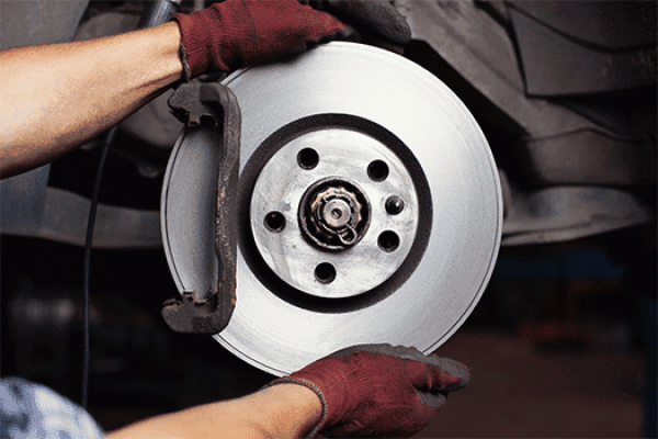 Manual Mitsubishi Carisma Reparación de Frenos