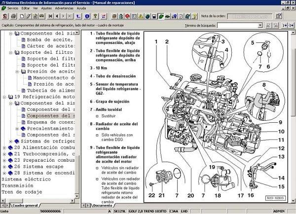 Manual Volkswagen T-Roc 2016 Taller y Mantenimiento de Motor, Pistones, bielas, juntas, soportes, cabeza, bujias, filtro de aire, filtro de gasolina, filtro de aceite