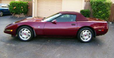 Manual de Usuario CHEVROLET Corvette 1993 en PDF Gratis