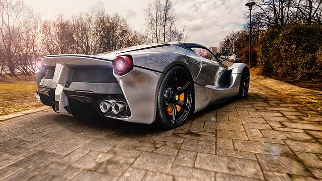 Ferrari autó