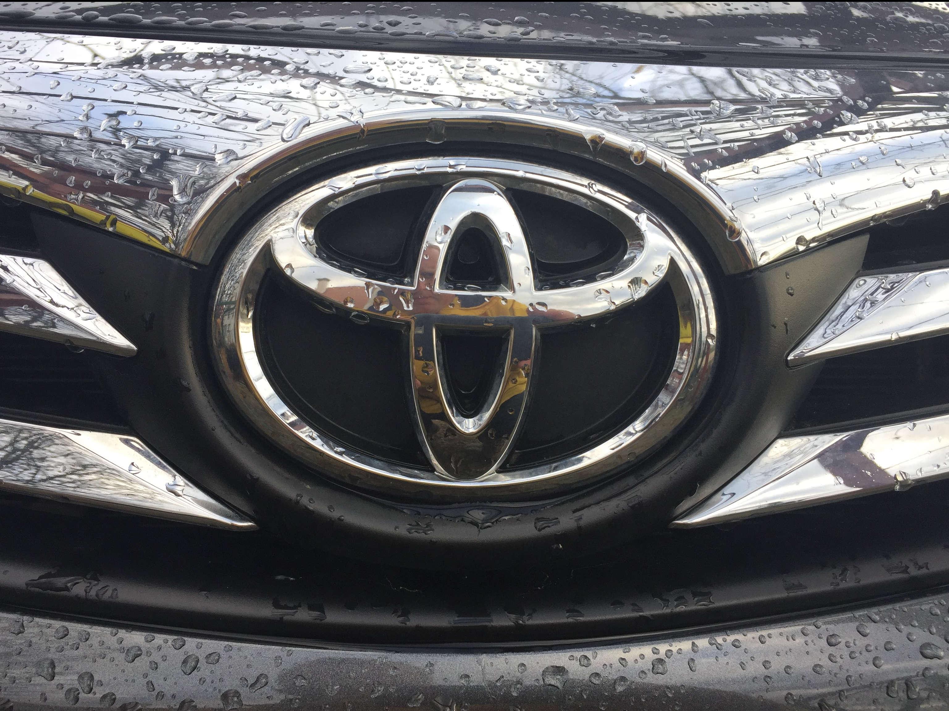 Toyota autó logó