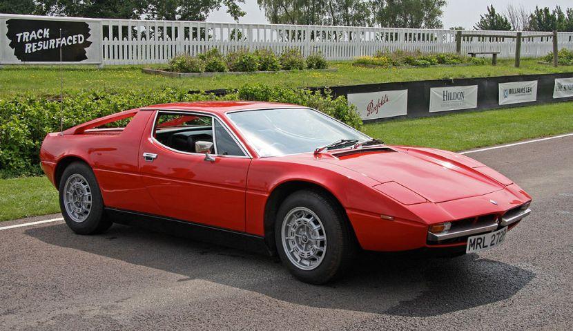 Maserati Merak autó