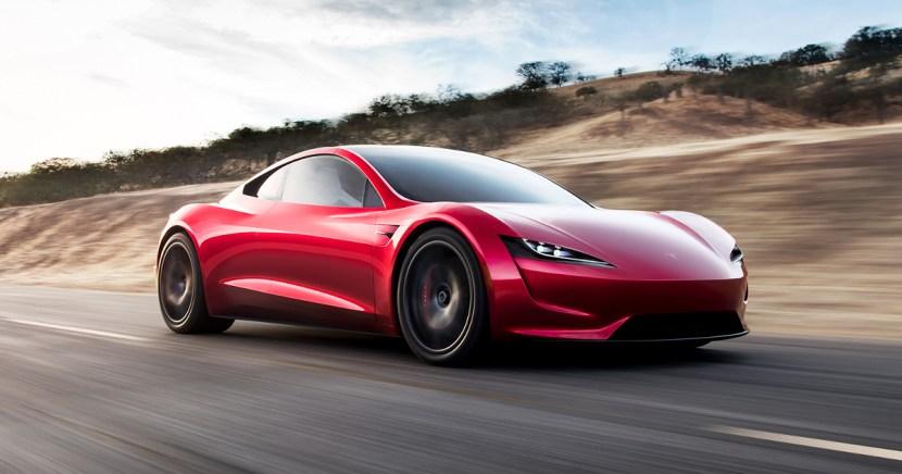 Tesla Roadster autó