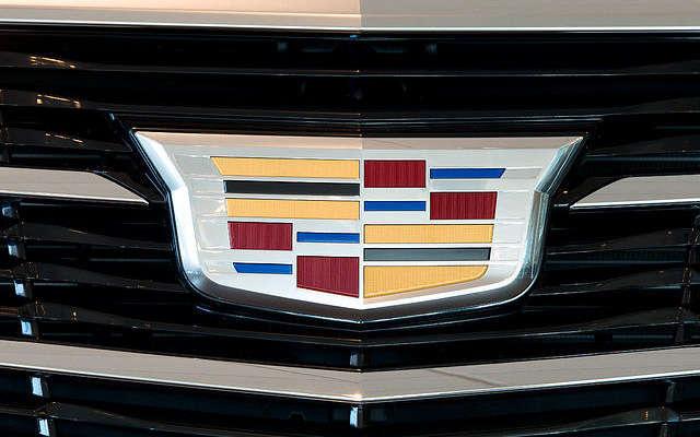 Cadillac autó embléma