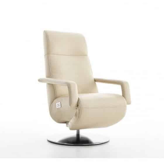 fauteuil relax pivotant electrique sur