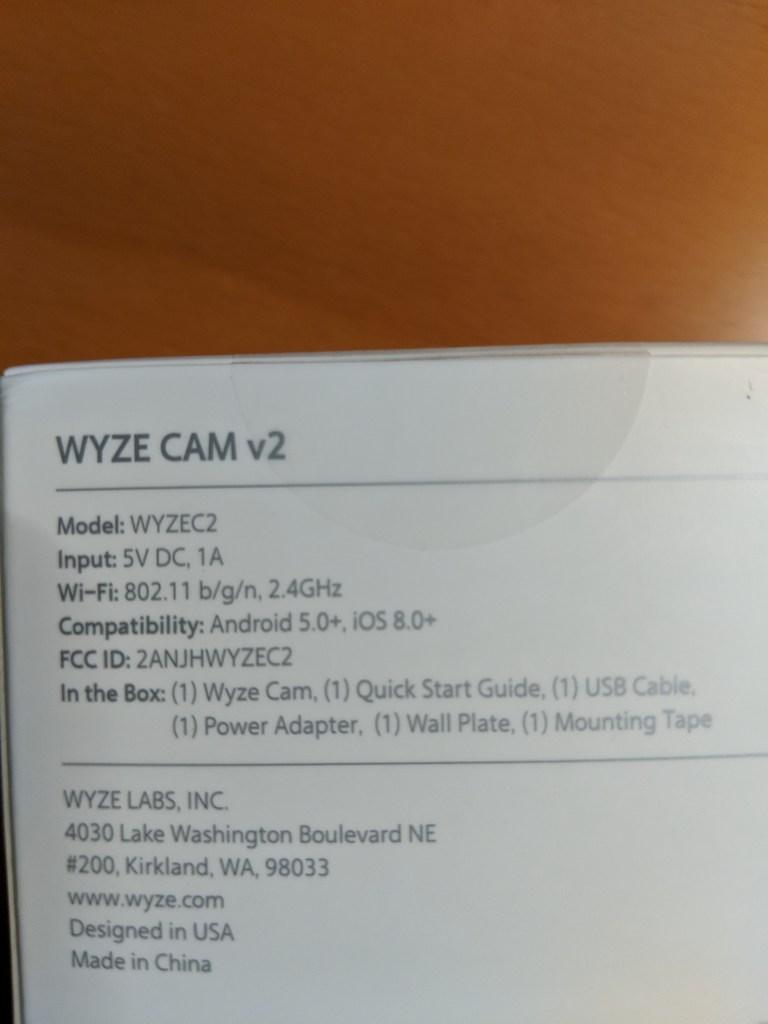 Wyze Cam v2 – Automate Your Life