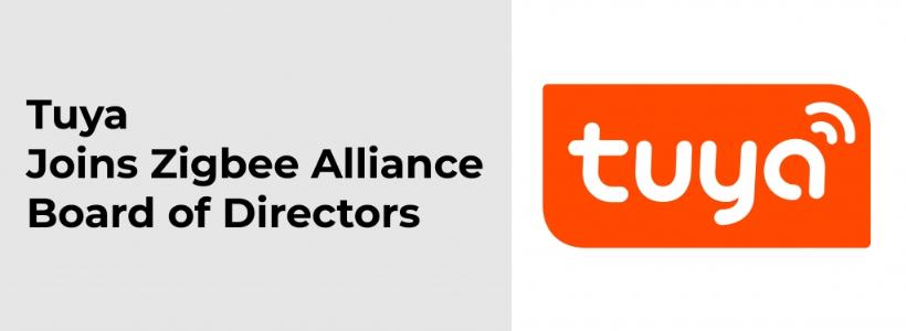 Screenshot of Tuya Joining Zigbee Alliance Board of Directors