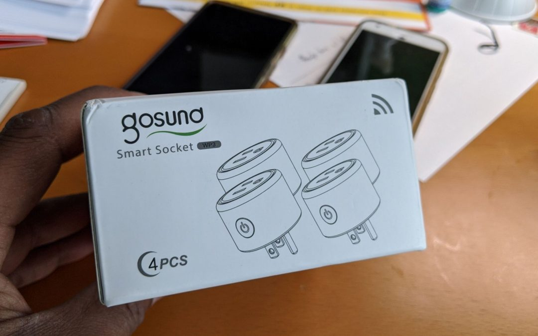 Picture of Gosund Smart Plugs Box of four