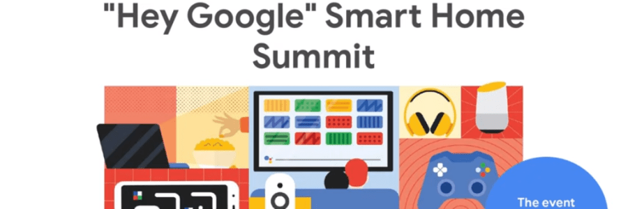 Google Smart Home Summit Title Page
