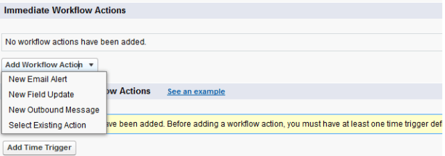 No Option to assign task