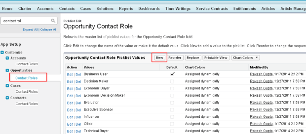 Add New Contact Role
