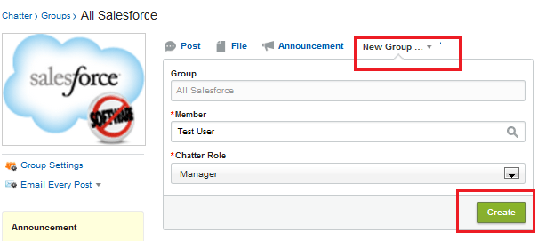 Add New Member into Chatter Groups Trough Publisher action