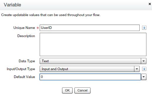 Variable UserID
