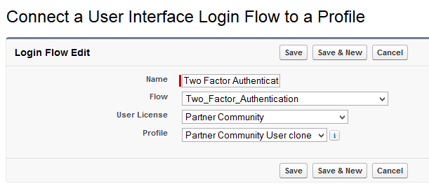 Create a Login Flow