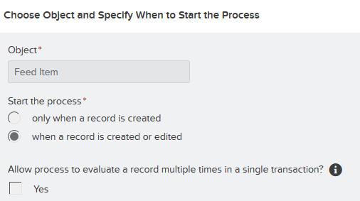 Record Evaluation Criteria