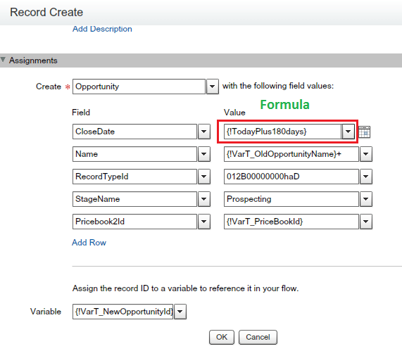 how to create opportunity line item in salesforce