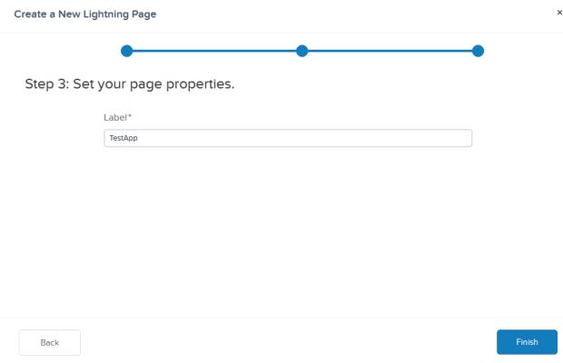New Lightning Page