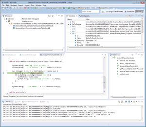 Debug Apex Code in Eclipse