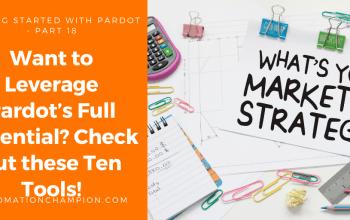 Top 10 Pardot Tools