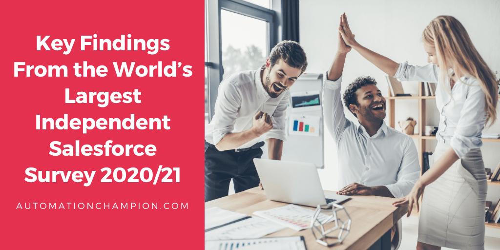 Mason Frank Salesforce Salary Survey 2020/21 – Key Findings