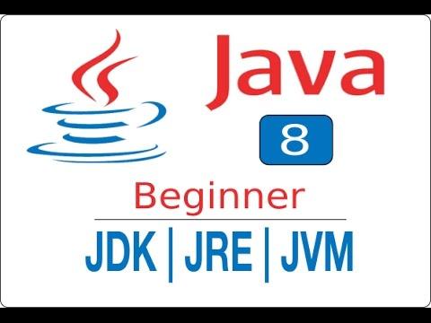 Java Beginner Tutorial 8 - JDK JRE JVM - Automation Step by Step