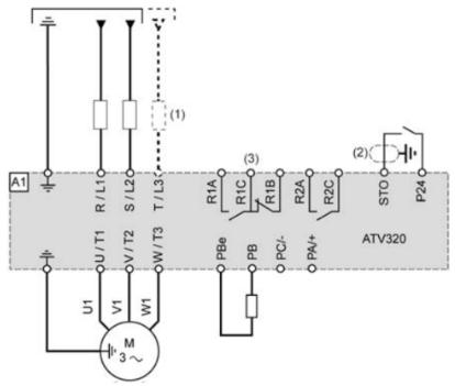 Instalación variador de frecuencia