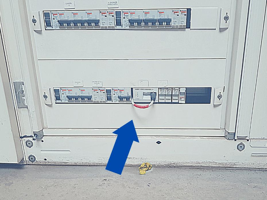 Antivertido en instalaciones solares conectadas a red
