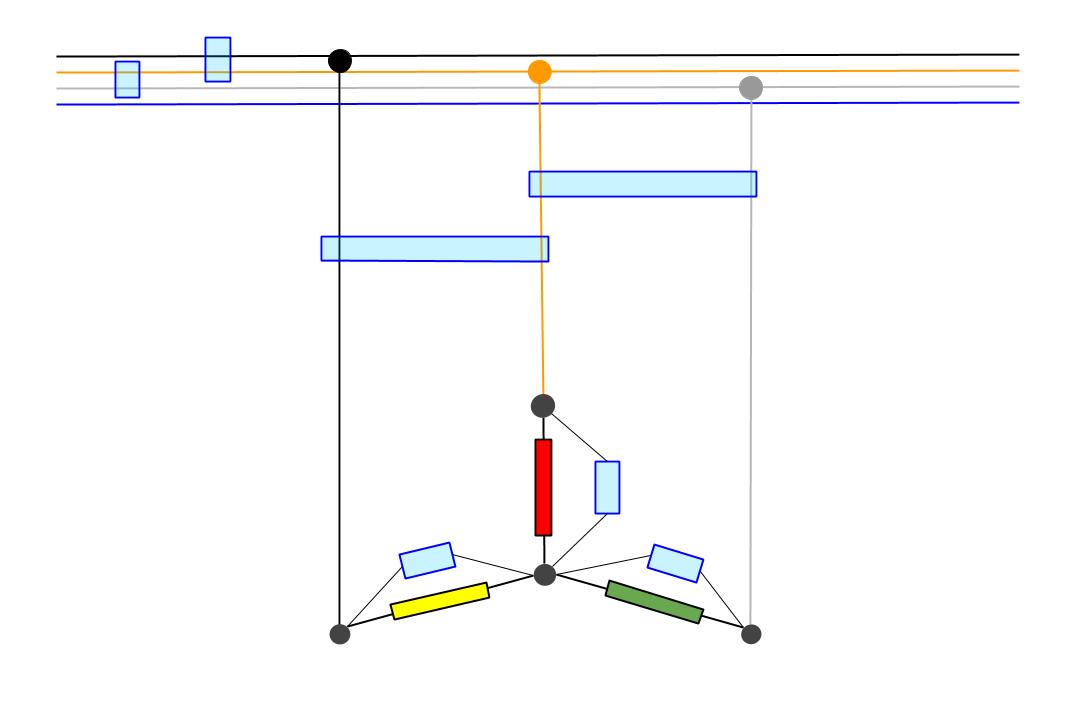 Motor conexión estrella
