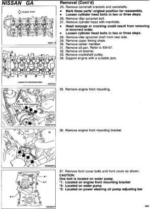 NISSAN SENTRA | CADENA DE TIEMPO  TIMING CHAIN | INSTALACION | MOTOR 16L, GA16DE 199100