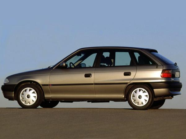 OPEL Astra car technical data. Car specifications. Vehicle ...