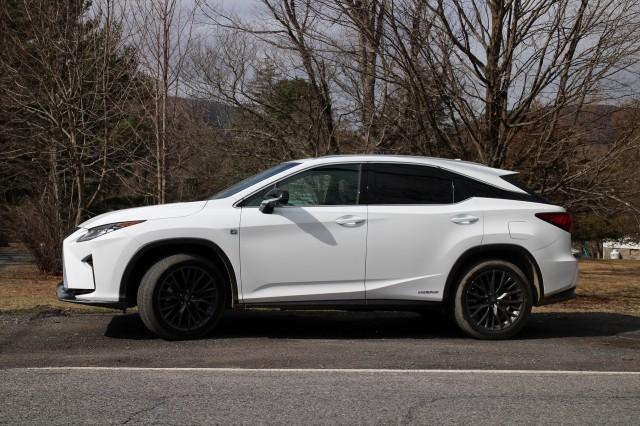 2017 Lexus RX 450h, Catskill Mountains, NY, Feb 2017