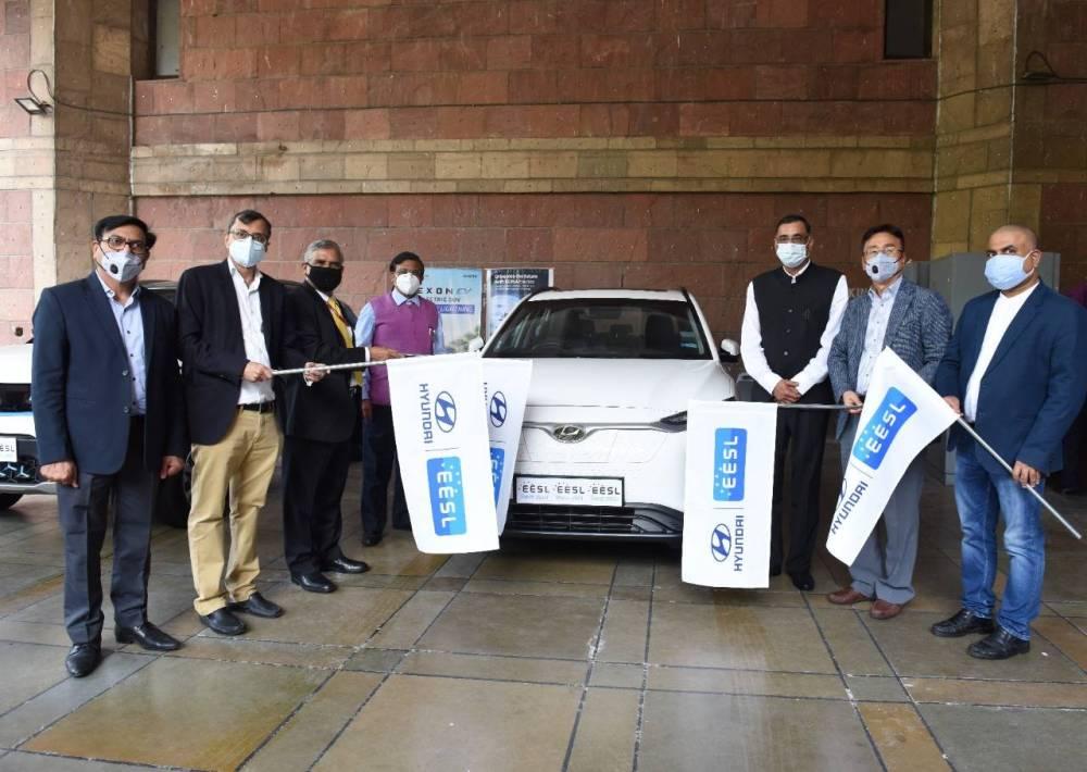 Hyundai will supply 100 Kona electric premium SUVs