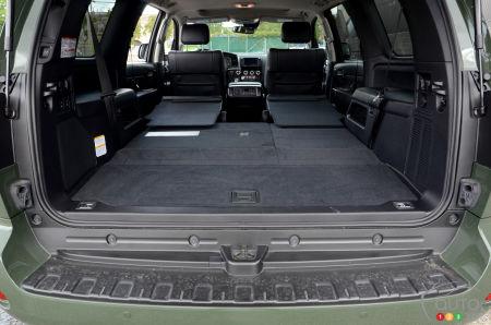 2020 Toyota Sequoia TRD Pro, trunk, cargo space