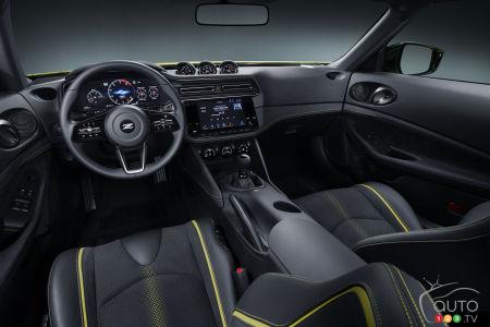 Nissan Z Proto, interior