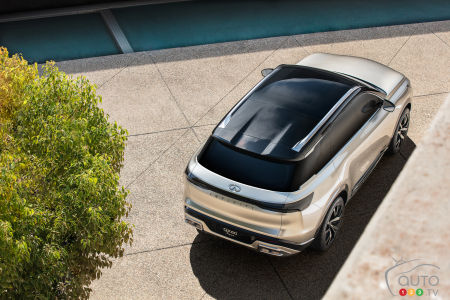 Infiniti QX60 Monograph, from above