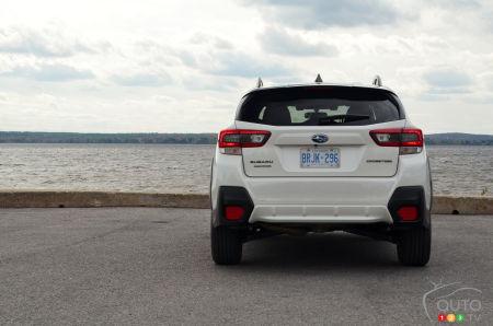 2021 Subaru Crosstrek Outdoor, rear