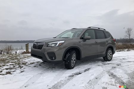 The 2021 Subaru Forester Touring