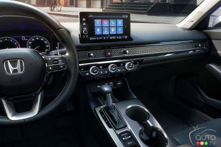 2022 Honda Civic, dashboard