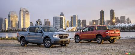 Ford Maverick, hybrid and Lariat versions