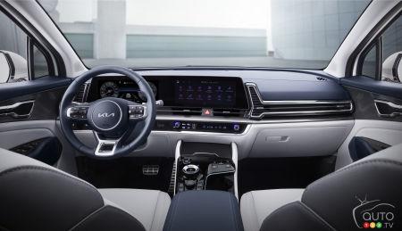 2023 Kia Sportage, interior, img. 2