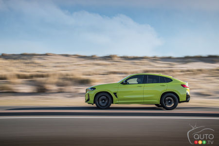 2022 BMW X4 M Competition, profile