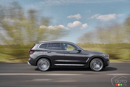 2022 BMW X3 M, profile