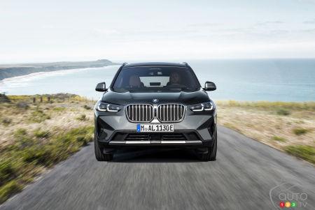 2022 BMW X3 M, front