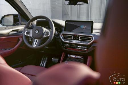2022 BMW X4 M, interior