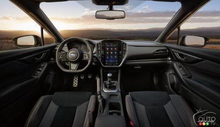 2022 Subaru WRX, interior