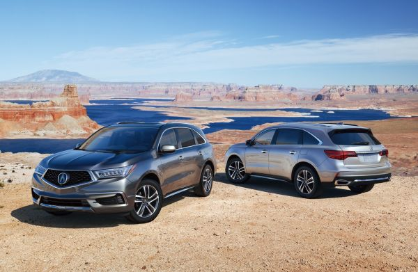 Acura MDX 2018 Brings Updated Tech And Sporty Colors